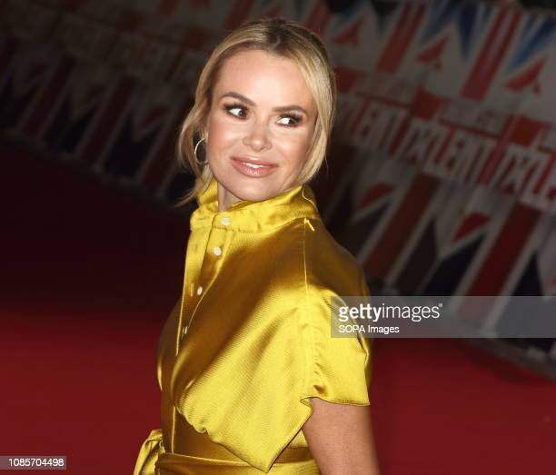 Judge Amanda Holden seen at the London Palladium for the Auditions of Britain's Got Talent TV Show Series 13