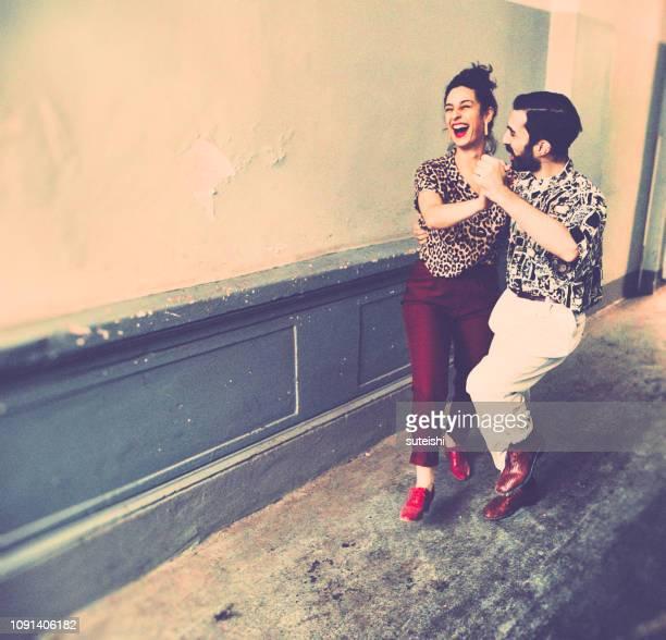 dancedancedance - tango tanz stock-fotos und bilder