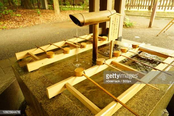 jp003.jpg - bamboo dipper stock photos and pictures
