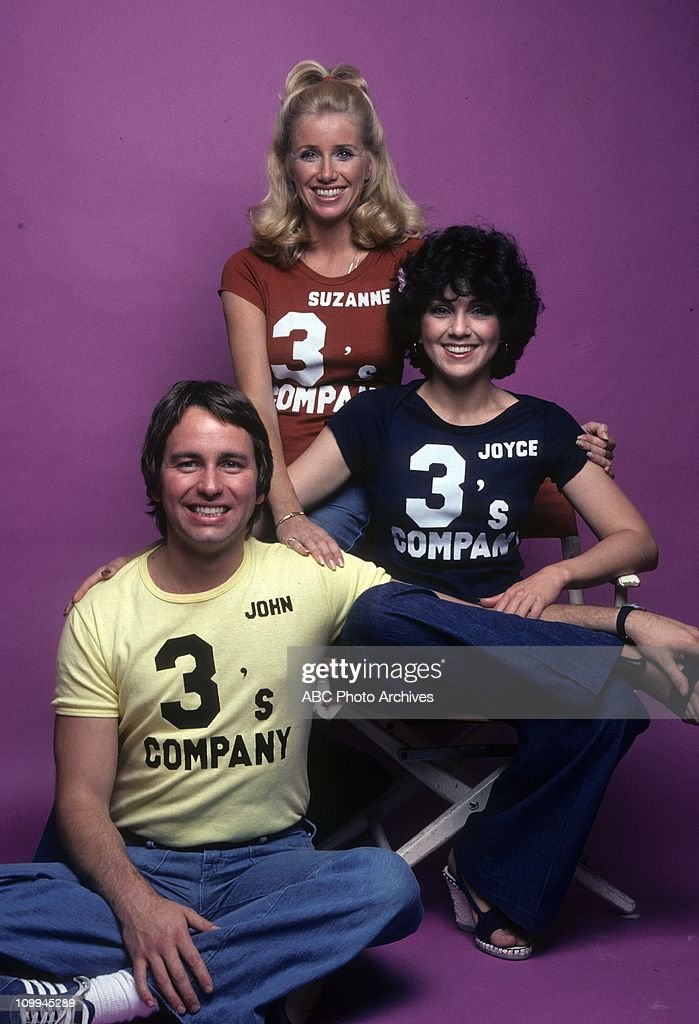 JOHN RITTER;SUZANNE SOMERS;JOYCE DEWITT : News Photo