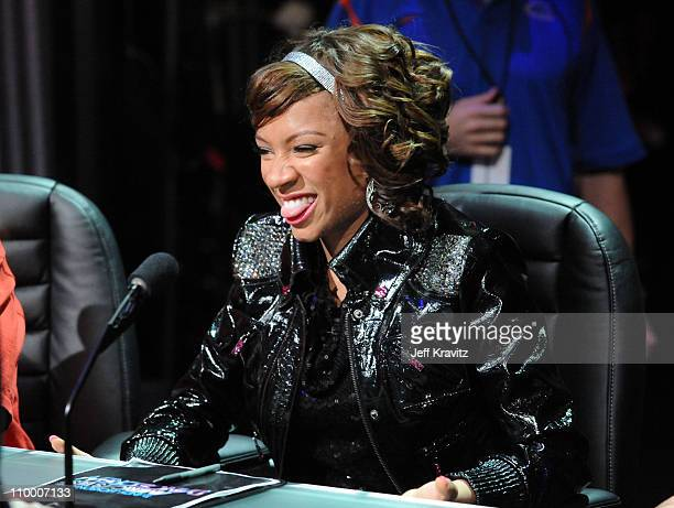 Lil Mama during the taping of Randy Jackson Presents America's Best Dance Crew Season 3 in Burbank, CA on January 20, 2009.