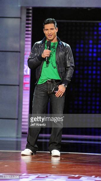 Mario Lopez during the taping of Randy Jackson Presents America's Best Dance Crew Season 3 in Burbank, CA on January 20, 2009.