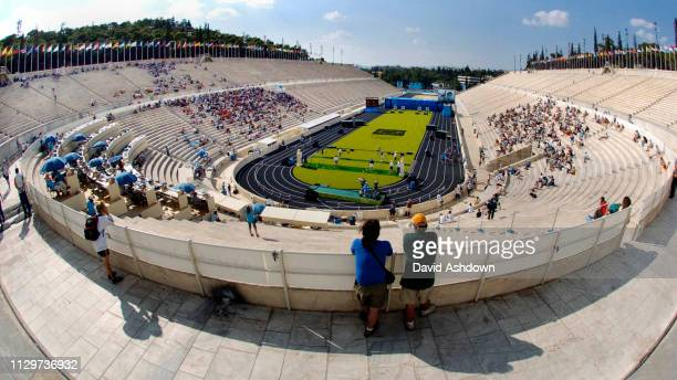 OLYMPIC GAMES IN ATHENS 2004. 17/8/2004 MEN'S INDIVIDUAL ARCHERY IN THE PANATHINAIKO STADIUM.,.