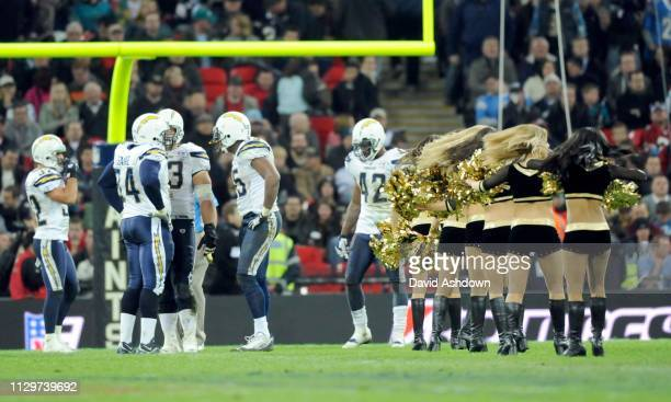 NFL. NEW ORLEANS SAINTS V SAN DIEGO CHARGES AT WEMBLY. .