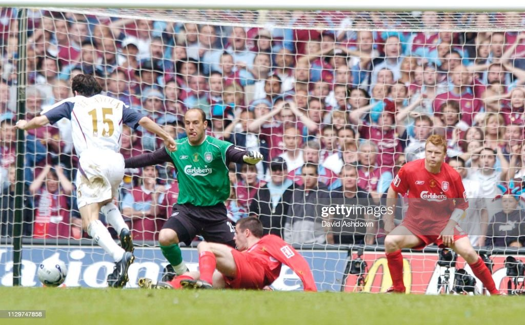FA Cup Final Liverpool v West Ham at the Millennium Cardiff 2006 : News Photo