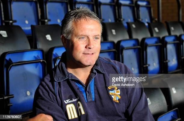 PORT VALE MANAGER MICKEY ADAMS 21/8/2010.