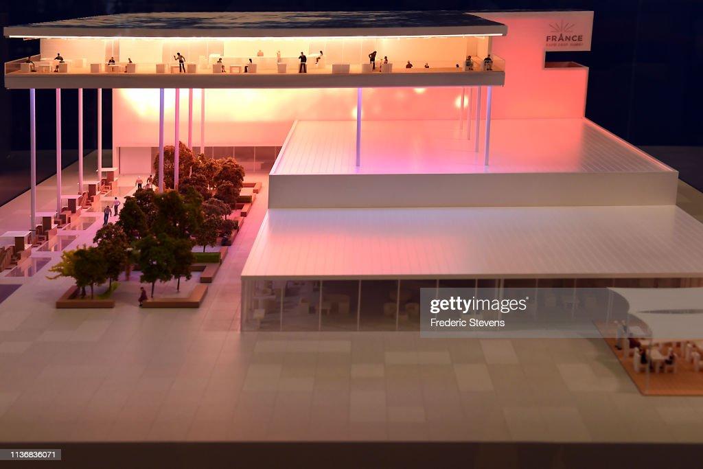 FRA: France Unveils Pavilion Design For Dubai Expo 2020