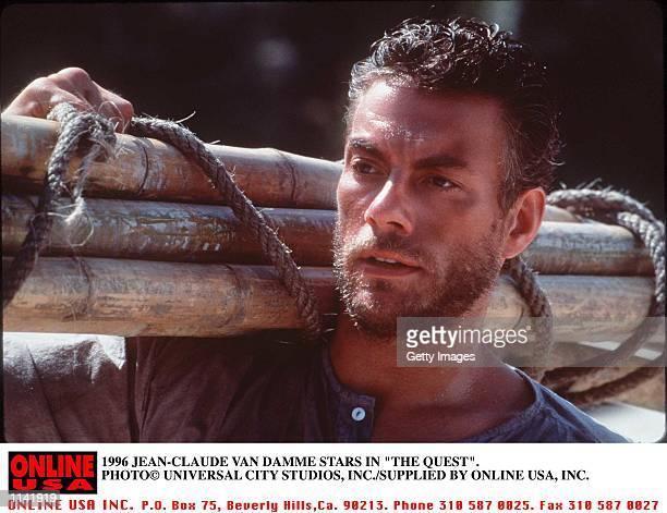 1996 JEAN-CLAUDE VAN DAMME STARS IN THE QUEST