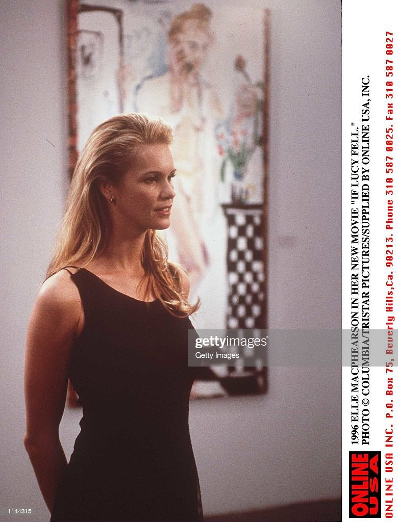 1996 Elle Macphearson In Her New Movie If Lucy Fell News Photo
