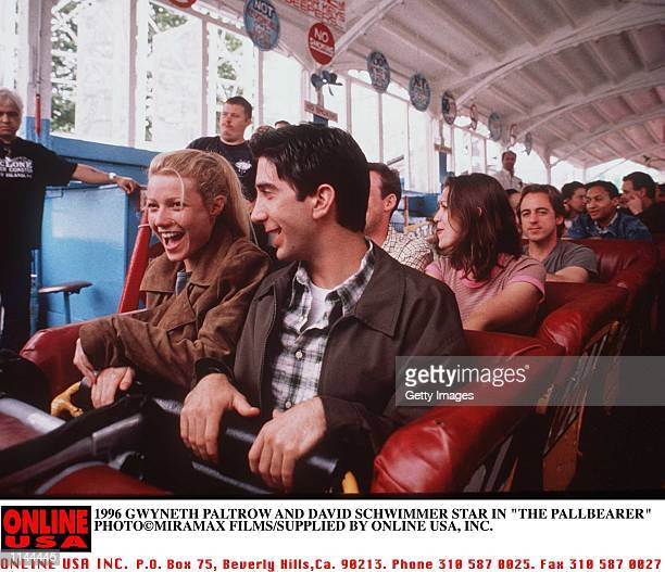 1996 GWYNETH PALTROW AND DAVID SCHWIMMER STAR IN THE PALLBEARER