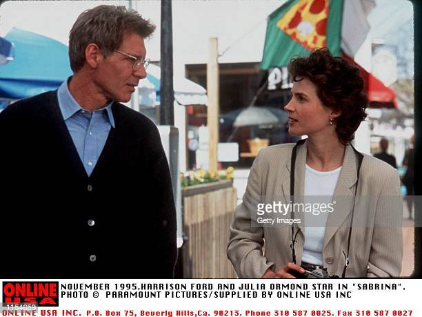 HARRISON FORD AND JULIA ORMOND IN NEW FILM SABRINA