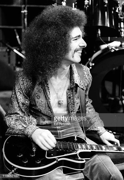 Neal Schon performs with Journey at a TV show taping at the Japan Center Theater in San Francisco January 7 1978