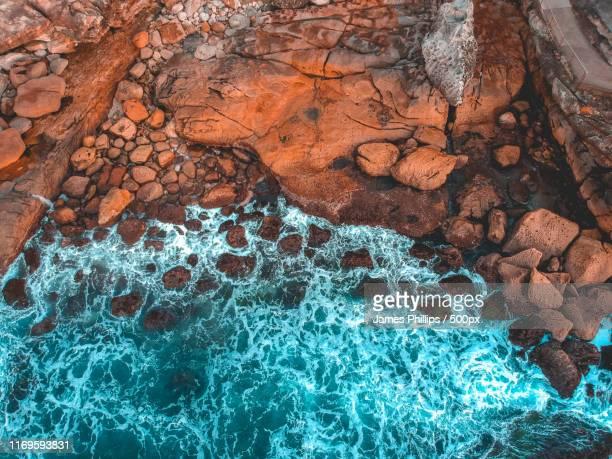 t e x t u r e - paisaje volcánico fotografías e imágenes de stock