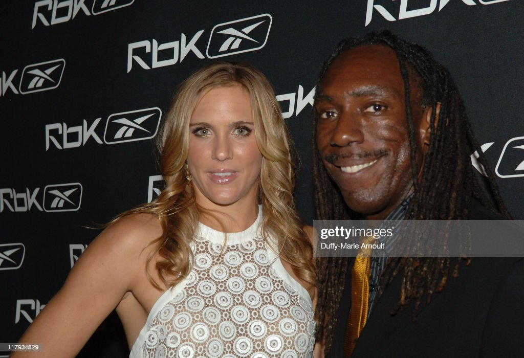 Nicole Vaidisova and Boyd Tinsley during Reebok Celebrates A Day in the Life of Nicole Vaidisova and her 18th Birthday - April 26, 2007.