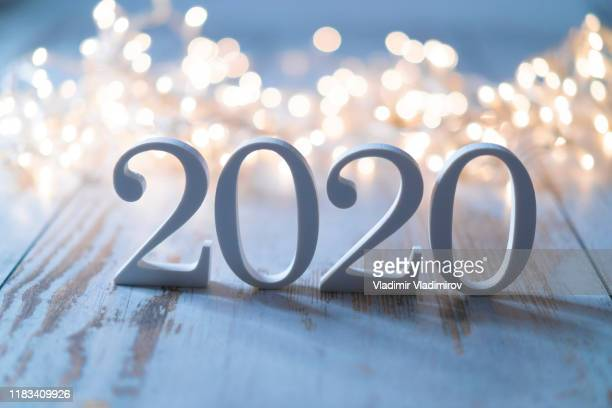 2020 - new year's eve stock pictures, royalty-free photos & images