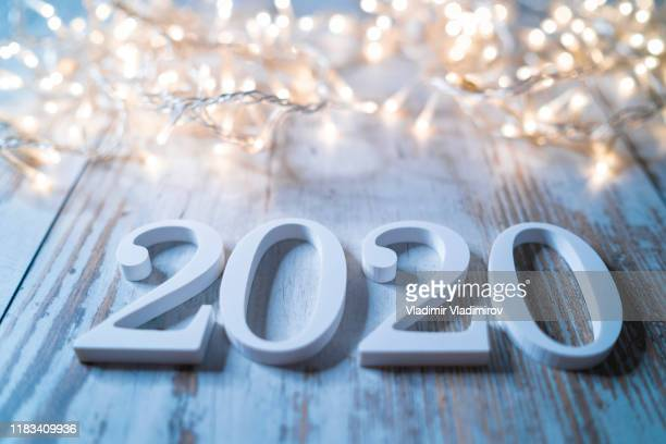 2020 - new year 2020 stock photos and pictures