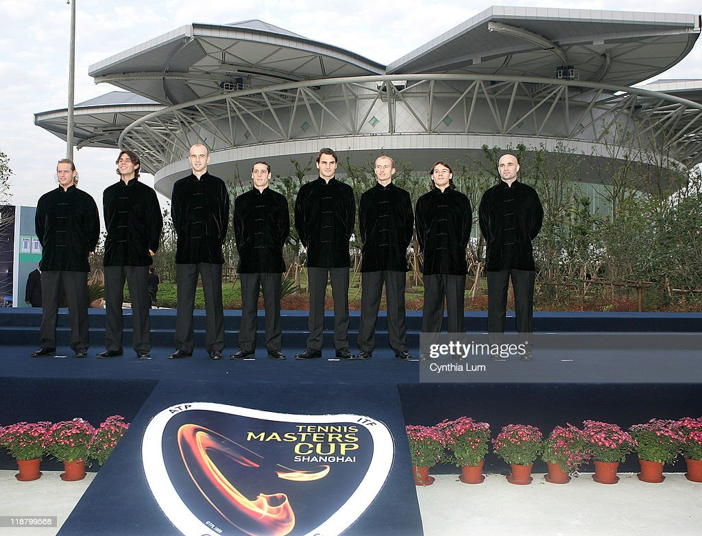2005 Tennis Masters Cup Shanghai - Opening Ceremonies - November 12, 2005
