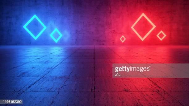 霓虹色的空間 - neon colored stock pictures, royalty-free photos & images