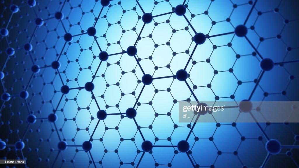分子結構 碳原子 : Stock Photo