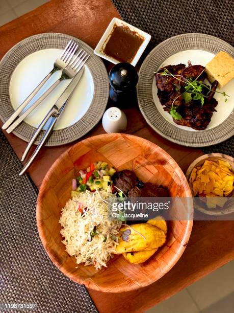 food & culture - nigerian food stock pictures, royalty-free photos & images