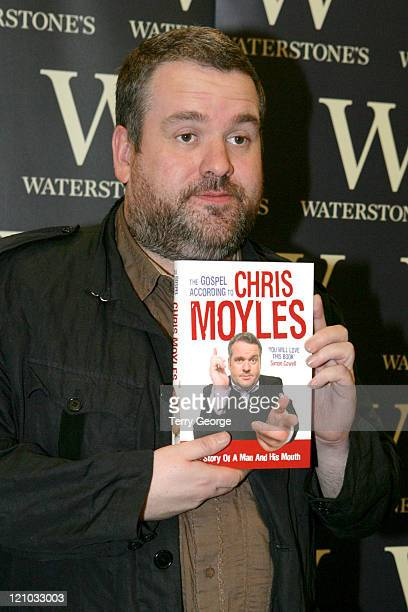 Chris Moyles during Chris Moyles Book Signing at Waterstone's October 14 2006