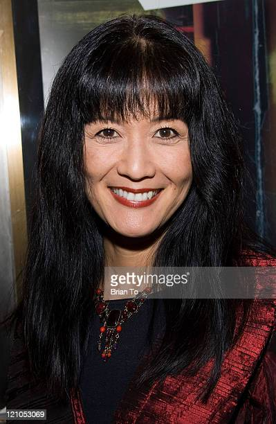 """Actress Suzanne Whang attends """"RENT"""" Los Angeles Opening Night at the Pantages Theater on February 27, 2009 in Hollywood, California."""