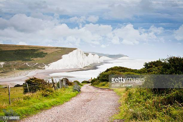 SEVEN SISTERS WHITE CLIFFS IN SUSSEX