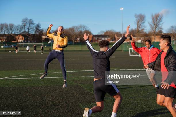 goal! - soccer stock pictures, royalty-free photos & images