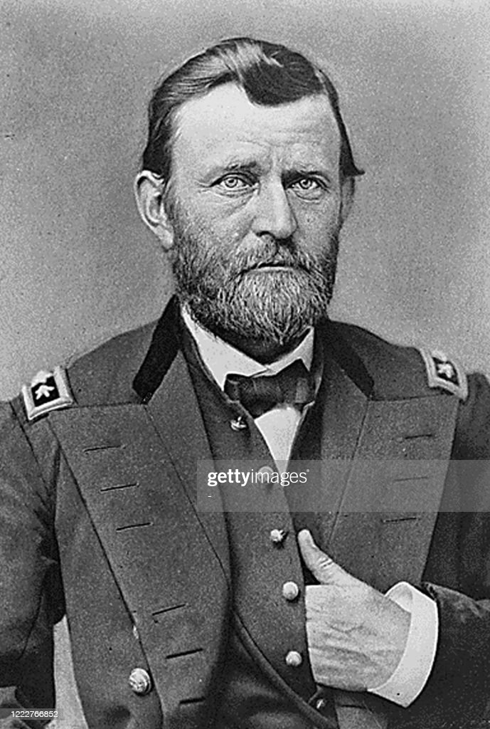 US-CIVIL WAR-GRANT-HAND : News Photo