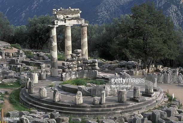 SANCTUARY OF ATHENA, DELPHI, GREECE