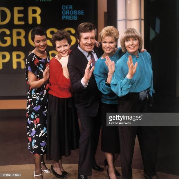 DER GROSSE PREIS / JANITA KÜHNL, MARIANNE PRILL, WIM THOELKE, SILVIA BRETSCHNEIDER, BEATE HOPF,1985.
