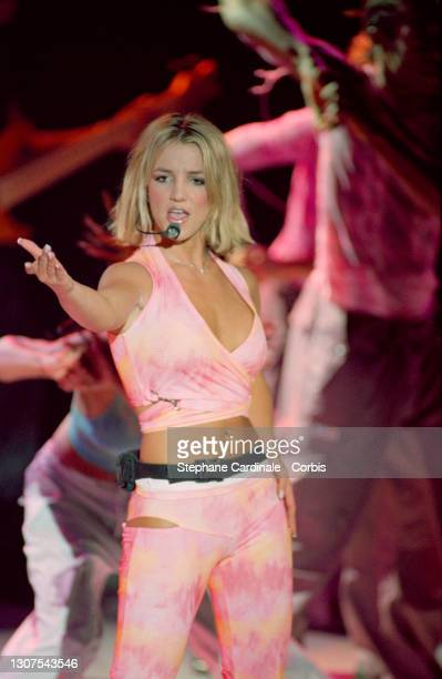 BRITNEY SPEARS IN CONCERT AT THE EMPIRE.