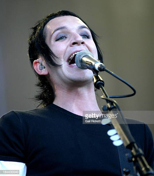 Brian Molko of Placebo during Carling Weekend Leeds Festival 2004 Day 1