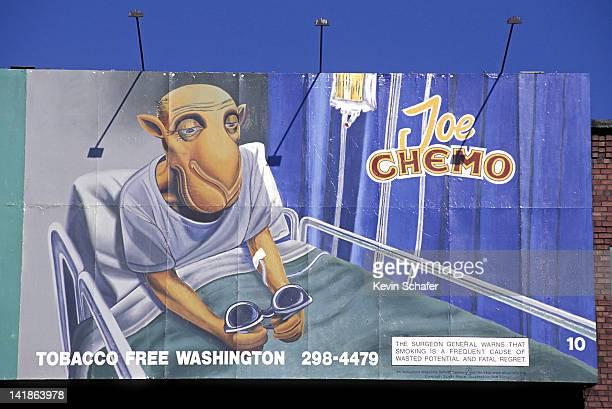 ANTI-SMOKING POSTER, JOE CHEMO. SEATTLE, WASHINGTON