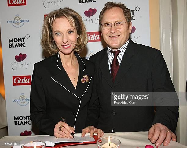 Mareike Carriere Und Ehemann Gerd Klement Beim Couple Of The Year Im Hotel Louis C Jacob In Hamburg Am 300106