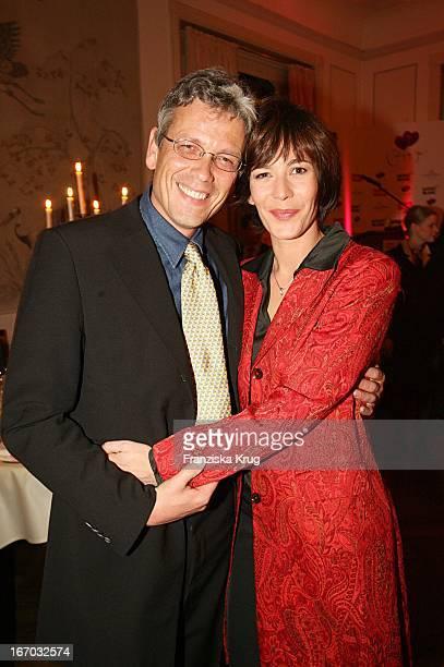 Sandra Maahn Und Freund Christoph Goetz Beim Couple Of The Year Im Hotel Louis C Jacob In Hamburg Am 300106