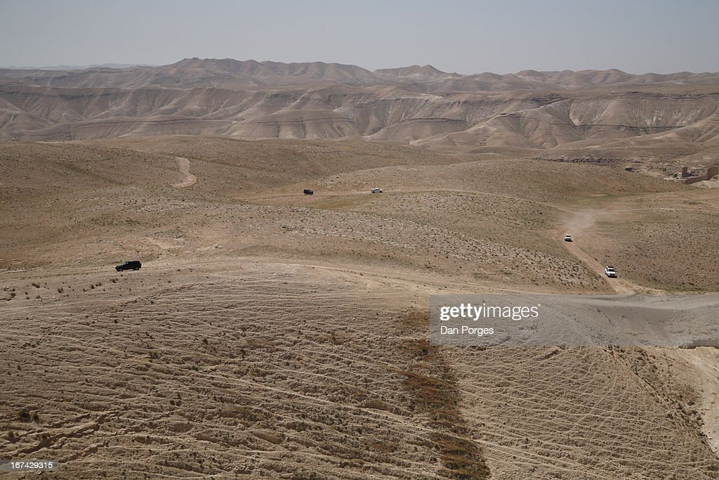 DRIVING CRAZE IN THE DESERT : Stock Photo