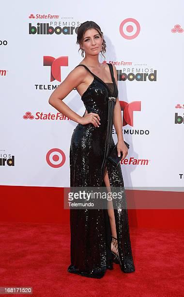 Natasha Dominguez arrive at the 2013 Billboard Latin Music Awards from Miami Florida at the BankUnited Center University of Miami April 25 2013