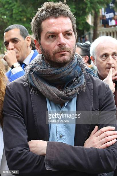 Artist Anri Sala attends the opening of The 55th International Art Exhibition at Giardini on May 29 2013 in Venice Italy The 55th International Art...