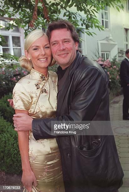Jan Fedder Und Ehefrau Marion Kurth Bei Studio Hamburg Party 0800