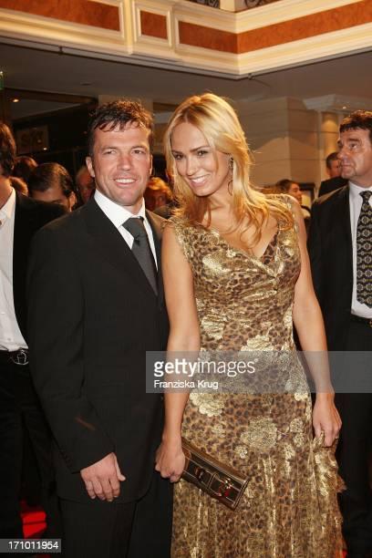 Lothar Matthäus Und Ehefrau Marijana Bei Der 5 United People Charity Night Im Hotel Bayerischer Hof In München Am 210907