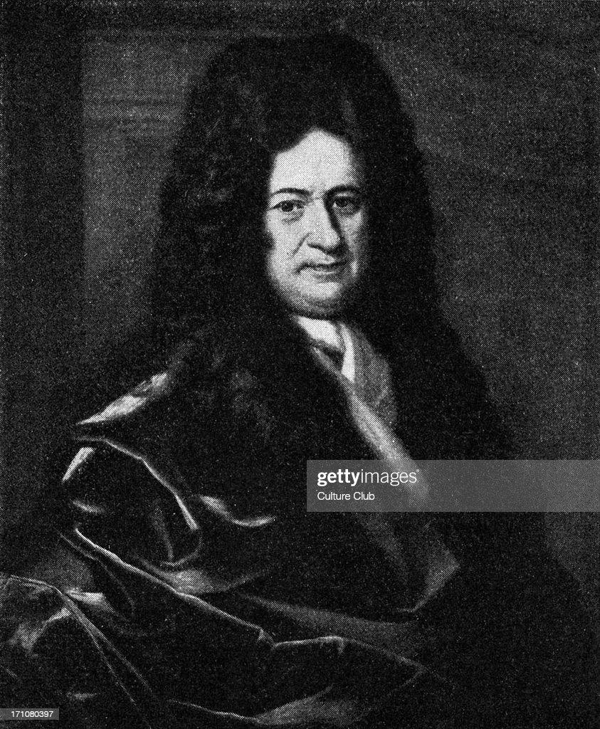 Gottfried Wilhelm Leibniz : News Photo