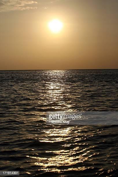 Sonnenuntergang Vor Phi Phi Island