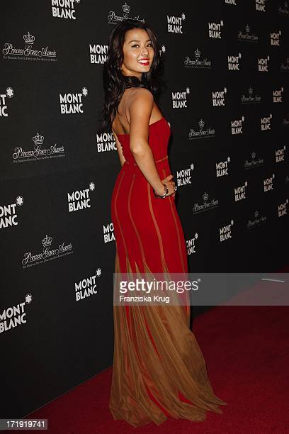 Sumire Matsubara Bei Der Präsentation Der Montblanc Collection Princesse Grace De Monaco