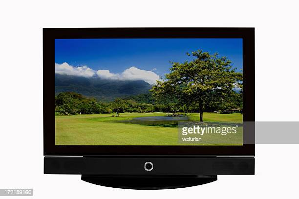 lcd tv - lcd tv stock photos and pictures