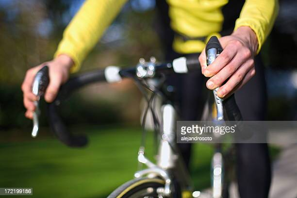 bicycle - handlebar stock photos and pictures