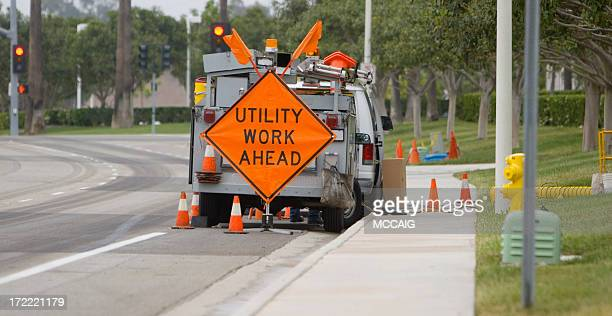 utility crew - sewer stock pictures, royalty-free photos & images