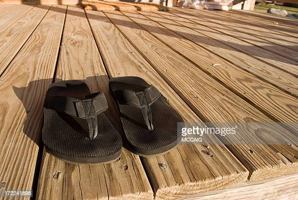 black sandals - aloha stock pictures, royalty-free photos & images