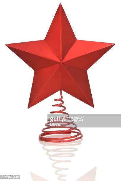 christmas star (vertical) - christmas star stock photos and pictures