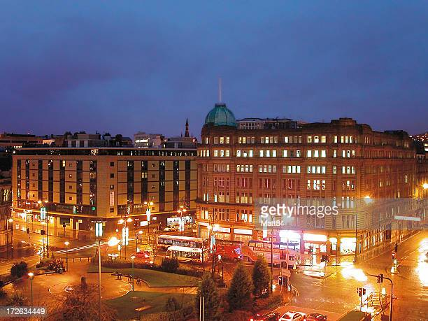 after dark 11 - bradford england stock pictures, royalty-free photos & images
